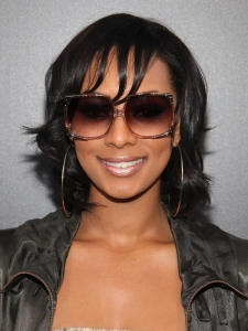Keri Hilson Short Shaggy Bob Haircut