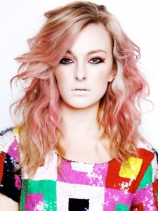 Glam Pink Hair Highlights Idea