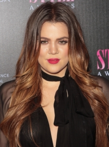 Khloe Kardashian Flipped Layers