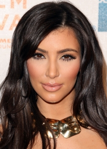 Kim Kardashian Golden Eye Makeup