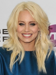 Kimberly Wyatt Long Blonde Hairstyle