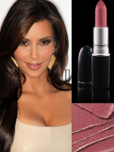 MAC Angel Lipstick on Kim Kardashian