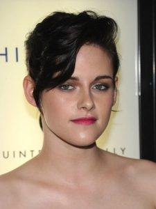Kristen Stewart French Twist Updo