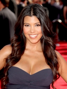 Kourtney Kardashian Hairstyle at the 2009 Emmy Awards