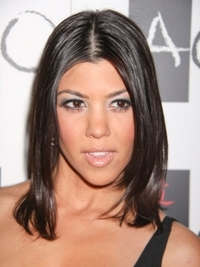 Kourtney Kardashian Hairstyles
