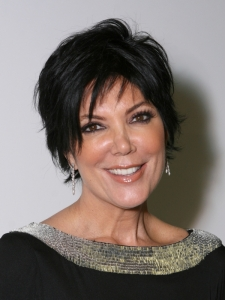 Kris Jenner Short Layered Hairstyle