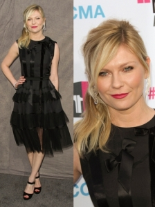 Kirsten Dunst in Christian Dior Dress