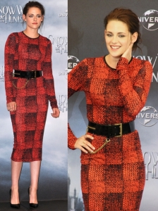 Kristen Stewart in 10 Crosby by Derek Lam Dress