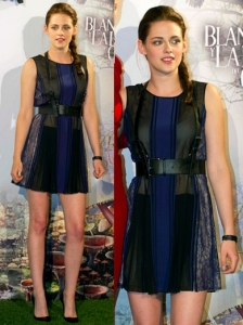 Kristen Stewart in BCBG Max Azria Dress