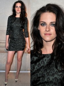 Kristen Stewart in Louis Vuitton Dress
