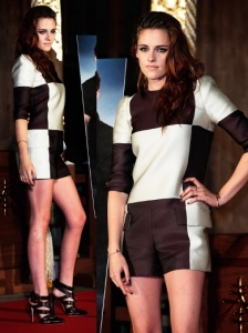 Kristen Stewart in Louis Vuitton Spring 2013 Look