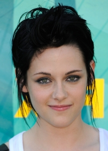 Kristen Stewart Metallic Smokey Eyes