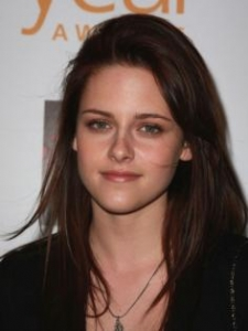 Kristen Stewart with Long Layered Haircut
