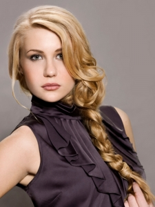 Long French Braided Hair Style