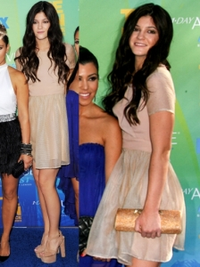 Kylie Jenner in BCBGeneration Dress