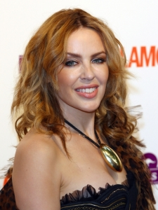 Kylie Minogue Layered Hairstyle