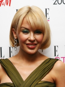 Kylie Minogue Bob with Bangs Hairstyle