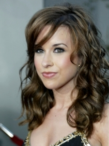 Lacey Chabert with Curly Hairstyle