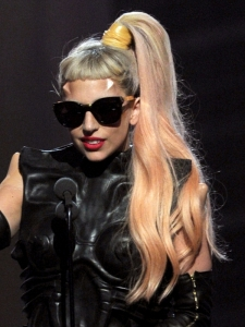Lady Gaga Hairstyle at the 2011 Grammy Awards