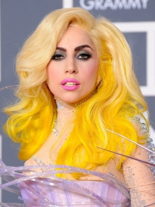 Lady Gaga Hairstyle from the 2010 Grammys
