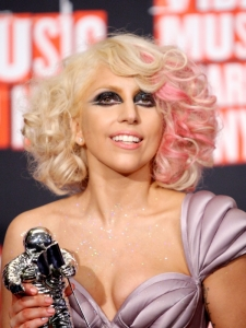 Lady Gaga Hairstyle at the 2009 MTV VMAs