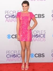 Lea Michele's Dress at 2013 People's Choice Awards