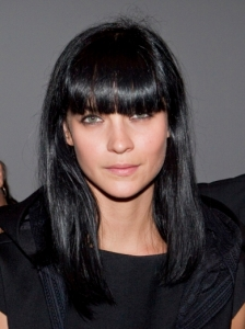 Leigh Lezark Full Bangs Hairstyle