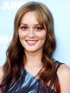 Leighton Meester's Long Smooth Waves