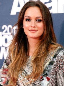 Leighton Meester Beach Waves 2011 MTV Movie Awards