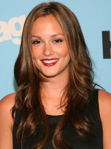 Leighton Meester's Long Glam Hairstyle