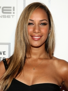 Leona Lewis Long Straight Hairstyle