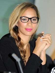 Leona Lewis Loose Side Braid Hairstyle
