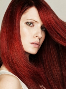 Light Burgundy Red Hair Color