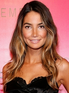 Lily Aldridge Ombre Tousled Waves