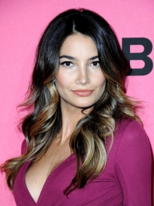 Lily Aldridge End Curls Hairstyle