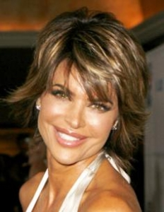 Lisa Rinna Graduated Haircut