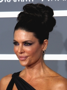 Lisa Rinna Sculpted Updo