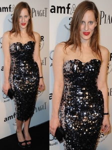 Liz Goldwyn In Dolce & Gabbana Sequin Dress