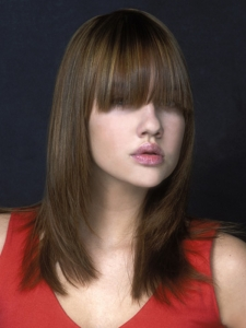 Long Bangs Hair Style