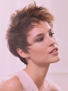 Romantic Choppy Layered Short Haircut
