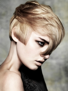 Fashionable Short Layered Haircut