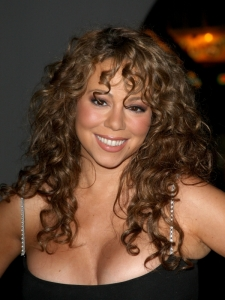 Mariah Carey Full Head Curls Hairstyle