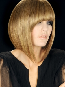 Chic Tapered Bob Hair Style