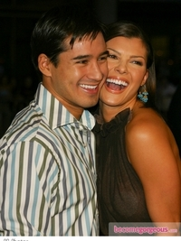 Mario Lopez and Ali Landry