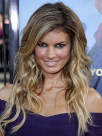 Marisa Miller Tousled Wavy Hairstyle