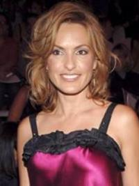Mariska Hargitay Medium Long Hair