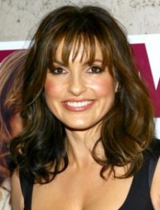 Mariska with Feathery Bangs