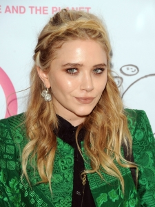 Mary-Kate Olsen Milkmaid Braid Hairstyle
