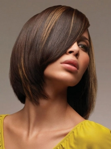 Stylish Caramel Hair Highlights