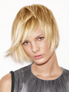 Medium Blonde Bob Hair Style